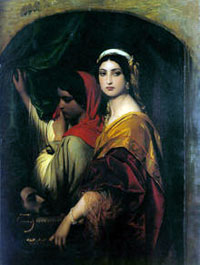 Paul Delaroche, Hérodias (1843), Cologne, Wallraf-Richartz Museum.